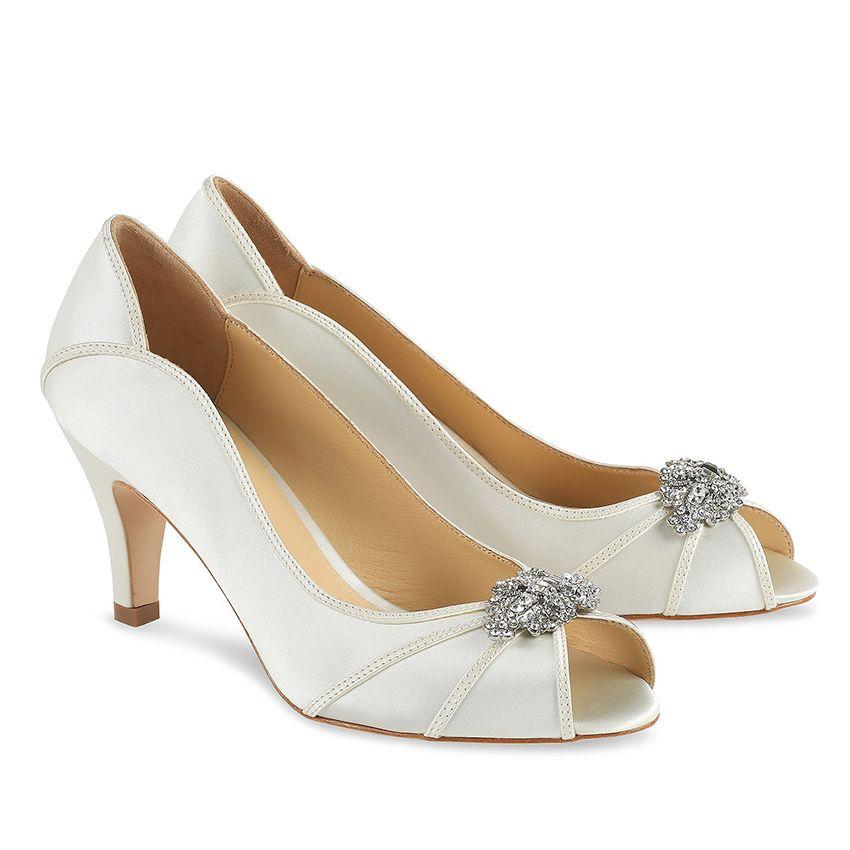 2c1eb2e8e00a57 Benjamin Adams London Marion Wedding Shoes is just £149.00