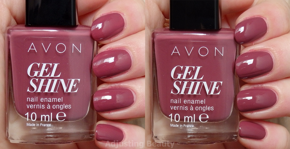 Review Of Avon Gel Shine Nail Enamel Mauvelous Shine Nails Nails Gel