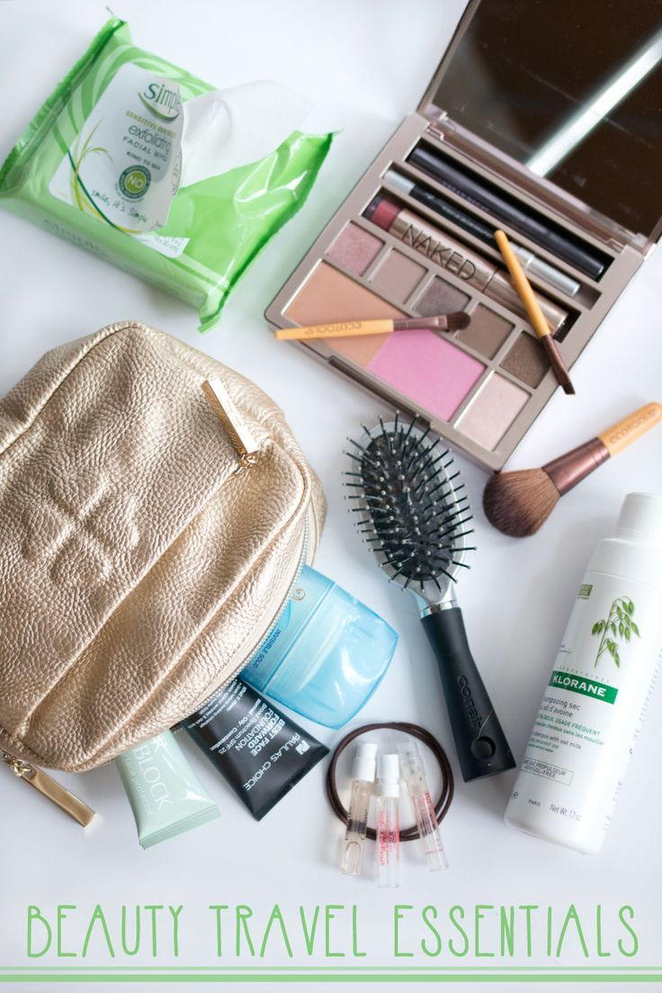 Travel Beauty Essentials - hellorigby seattle beauty & fashion #beautyessentials