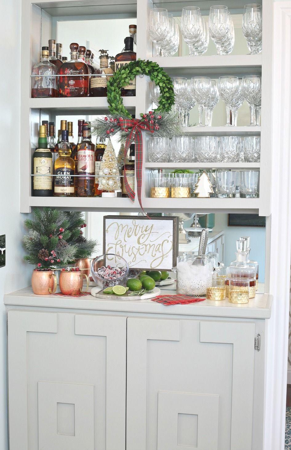 Stocked Holiday Bar Must Haves. Kirkland\'s. #ad | The Creativity ...