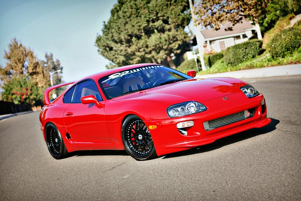 1998 toyota supra twin turbo twin turbo toyota supras equipped with iforged wheels iforged. Black Bedroom Furniture Sets. Home Design Ideas