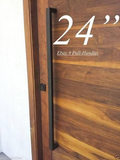exterior door handles pulls contemporary | Outdoor | Pinterest ...