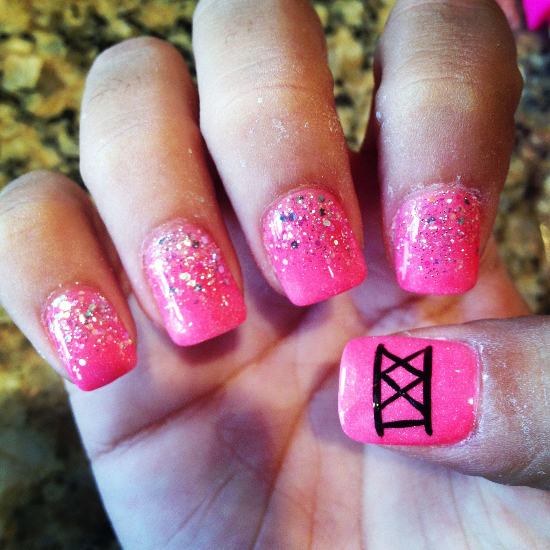 Perfect 10 ! 21st birthday nails   Nails   Pinterest   21st birthday ...