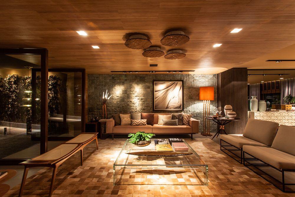 Decoración: Salón - sofá de color beige;.  Casa Valentina