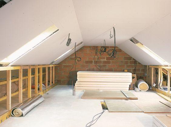 Aménager les combles en 15 questions Lofts, Loft room and Attic - exemple devis construction maison