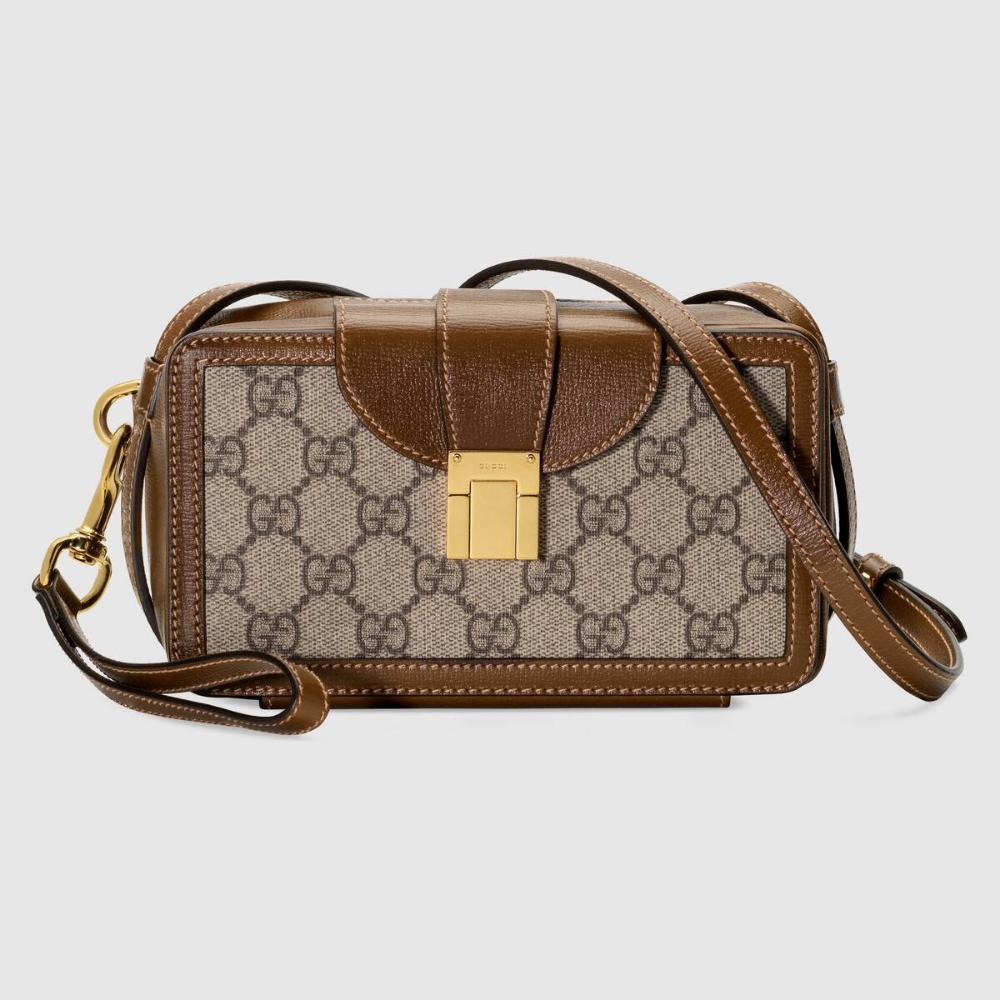 Gucci Gg Mini Bag With Clasp Closure In 2021 Gucci Mini Bag Mini Bag Vintage Travel Accessories