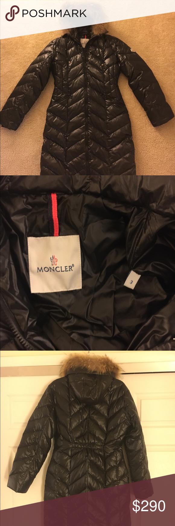 moncler vest size 3