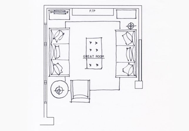 Decor Mentor Space Planning A Family Room