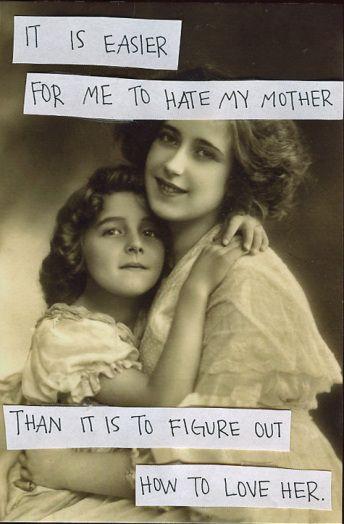 Quando Una Figlia Odia Sua Madre