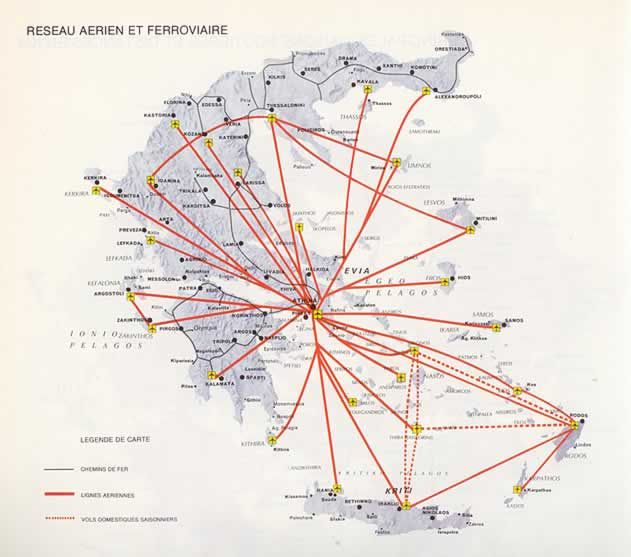 airports in greece map | Dreaming GREEK Places | Greek islands