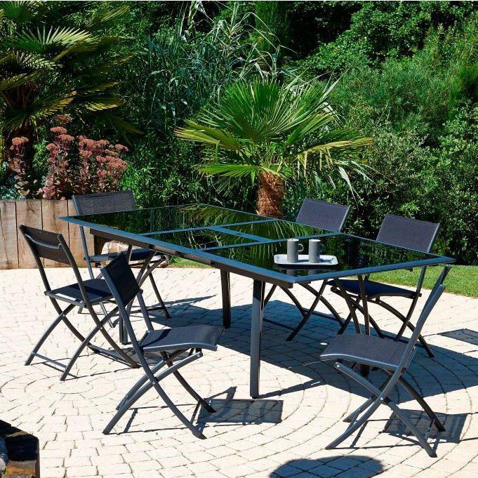 Salon de jardin LOUNGE | Meubles pas cher | Pinterest | Auchan ...