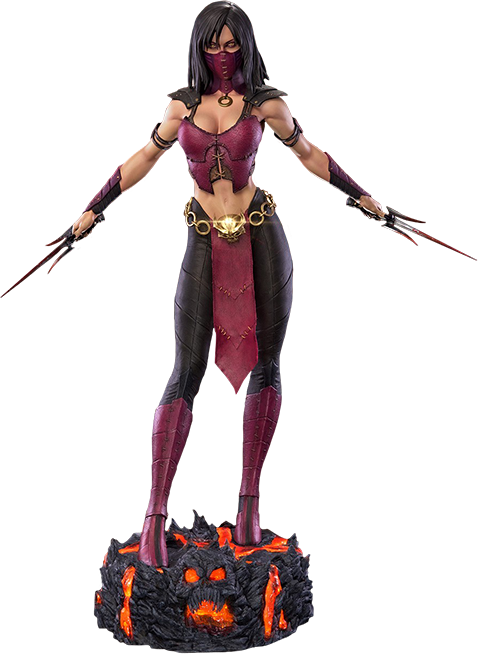 Mortal Kombat Mileena MKX Statue by Pop Culture Shock