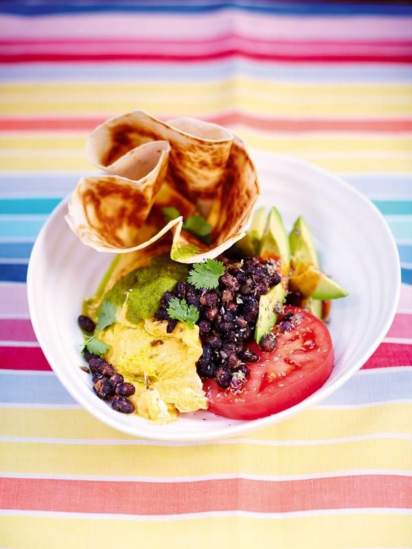 Huevos rancheros from jamies comfort food recipes breakfast huevos rancheros from jamies comfort food forumfinder Images