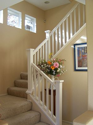 Love This White Painted Staircase Painted Staircases