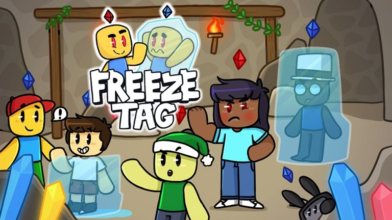 Freeze Tag ⚡️ Roblox Frozen tags Roblox Frozen