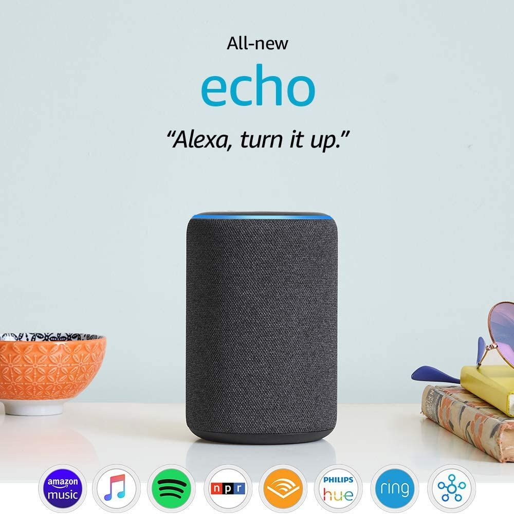 Price 99 99 Top Echo 3rd Gen Smart Speaker With Alexa Charcoal In 2020 Smart Speaker Amazon Echo Alexa