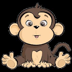 Coleccion De Gifs Imagenes De Safari Dibujos De Monos Infantiles Tatuajes De Monos Caricatura De Bebe