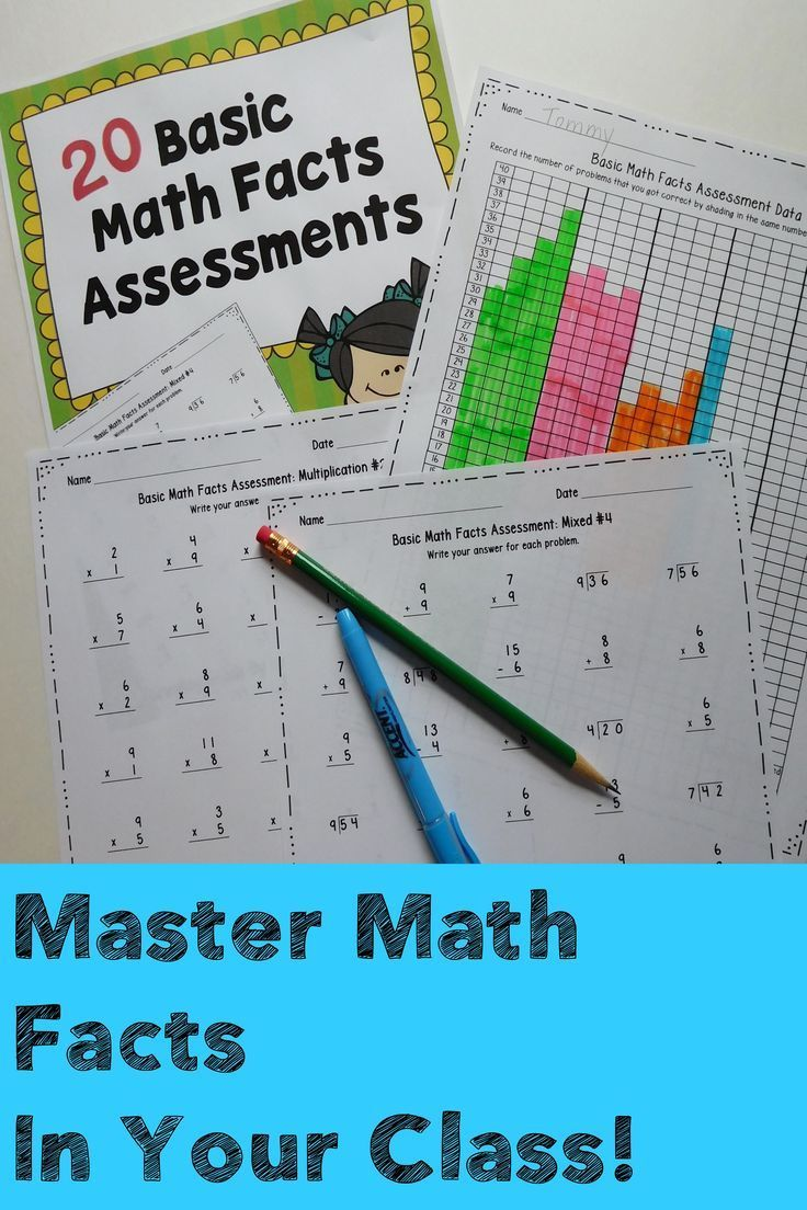 Colorful Basic Facts In Math Image - General Worksheet ...