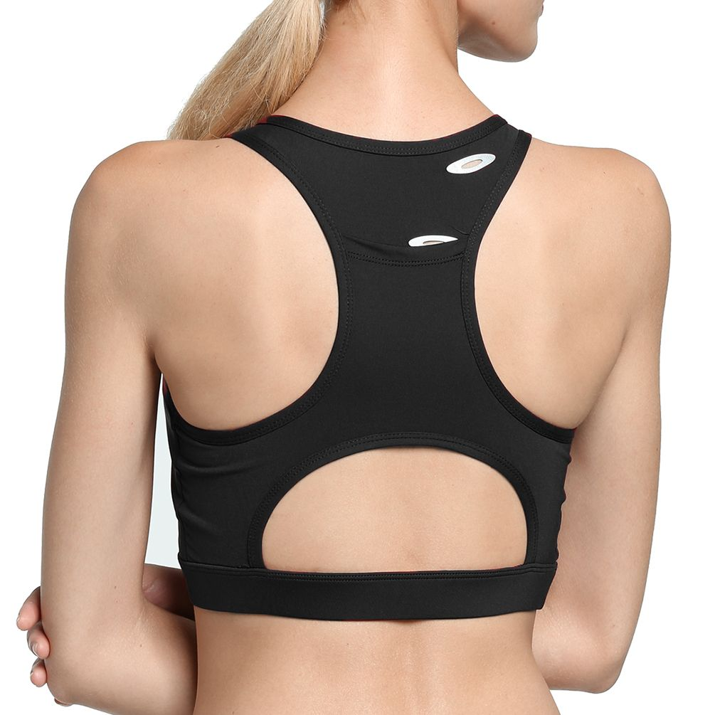 80a491ad130c9 Wireless Sports Bra-Fitibest Women Wireless Sports Bra Padded Exercise Bra  Wirefree Yoga Bra High