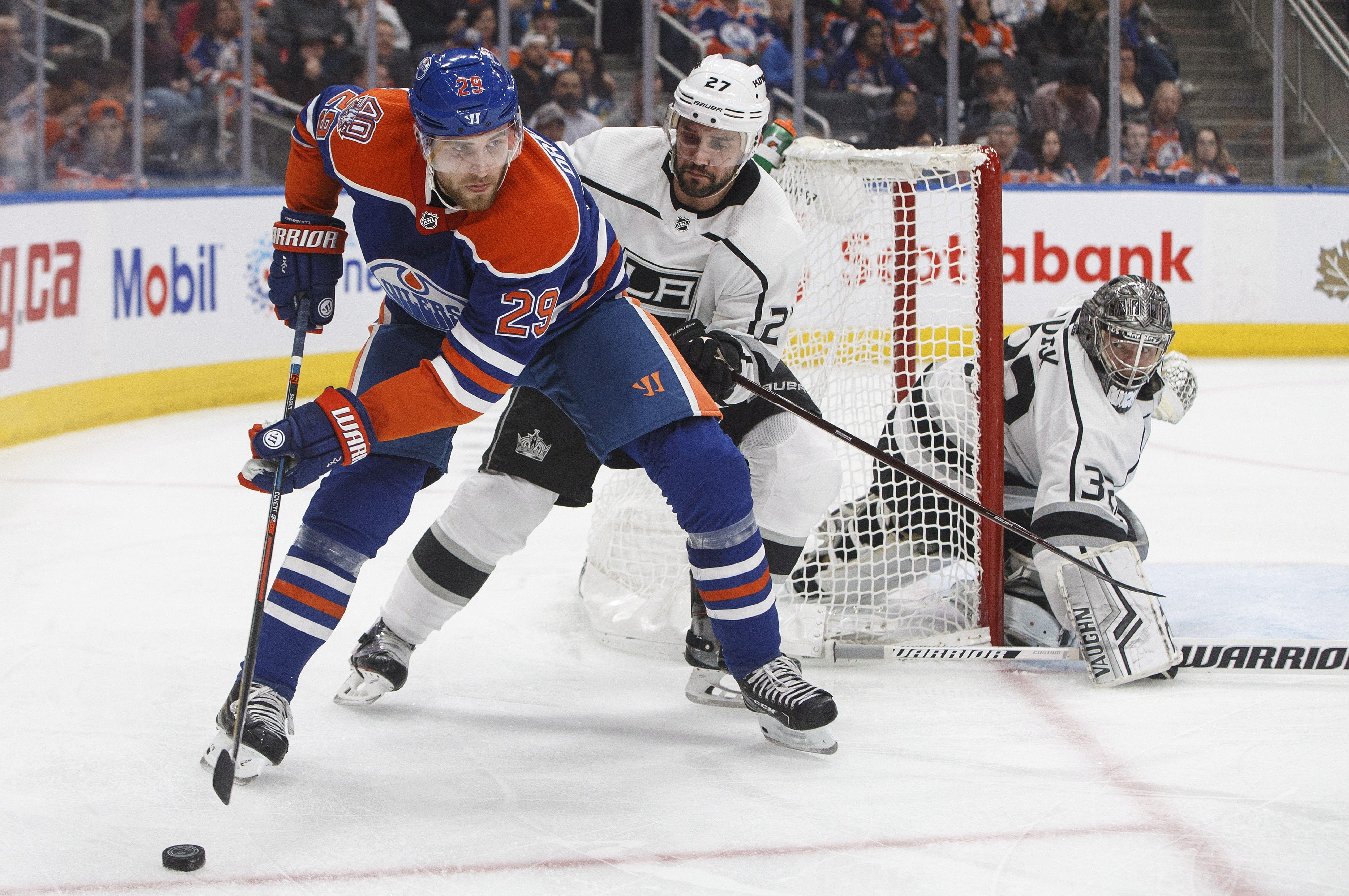 Oilers Beat Kings Late On Klefbom S Game Winner Oilers Edmonton Oilers La Kings