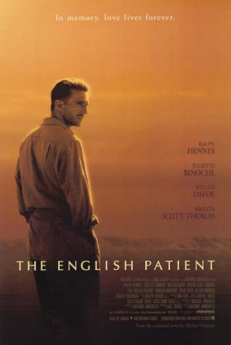 """The English Patient"", romantic drama film by Anthony Minghella (UK, 1996)"