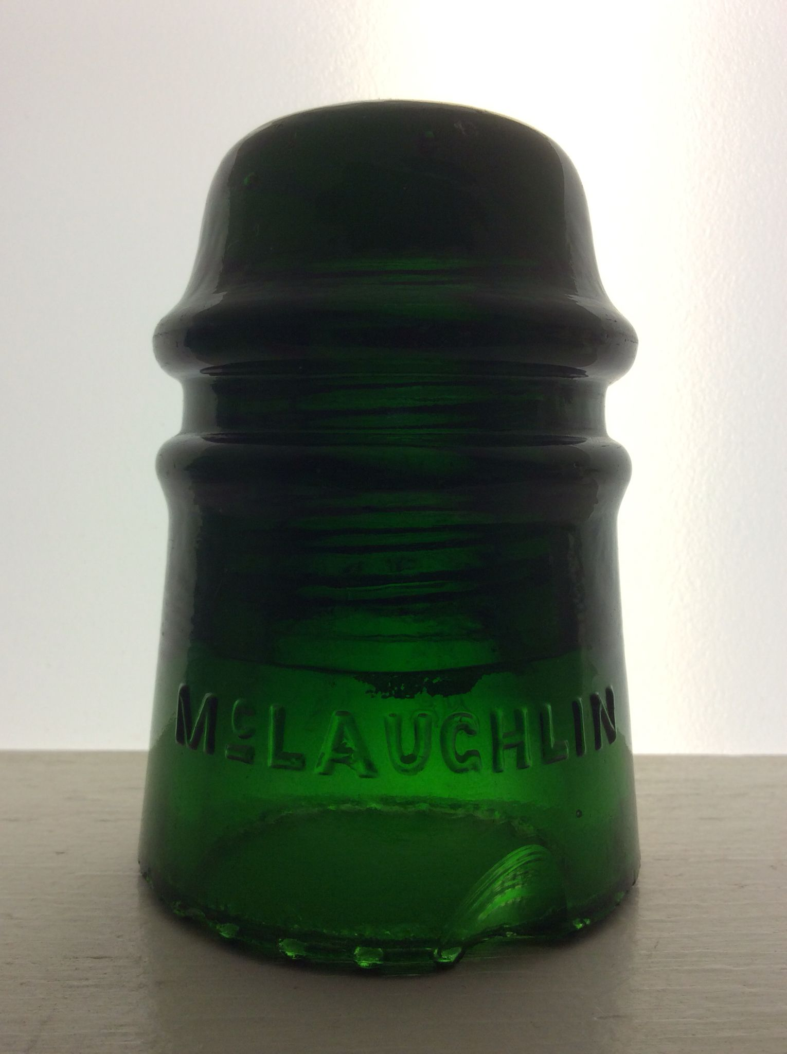 This Is My Cd 121 Mclaughlin 16 Gl Insulator In Some Shade Of Emerald Green