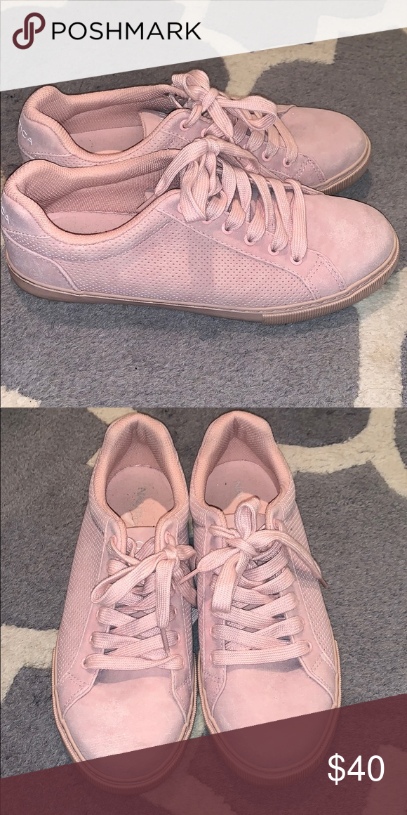 Baby Pink Nautica Sneakers Only worn