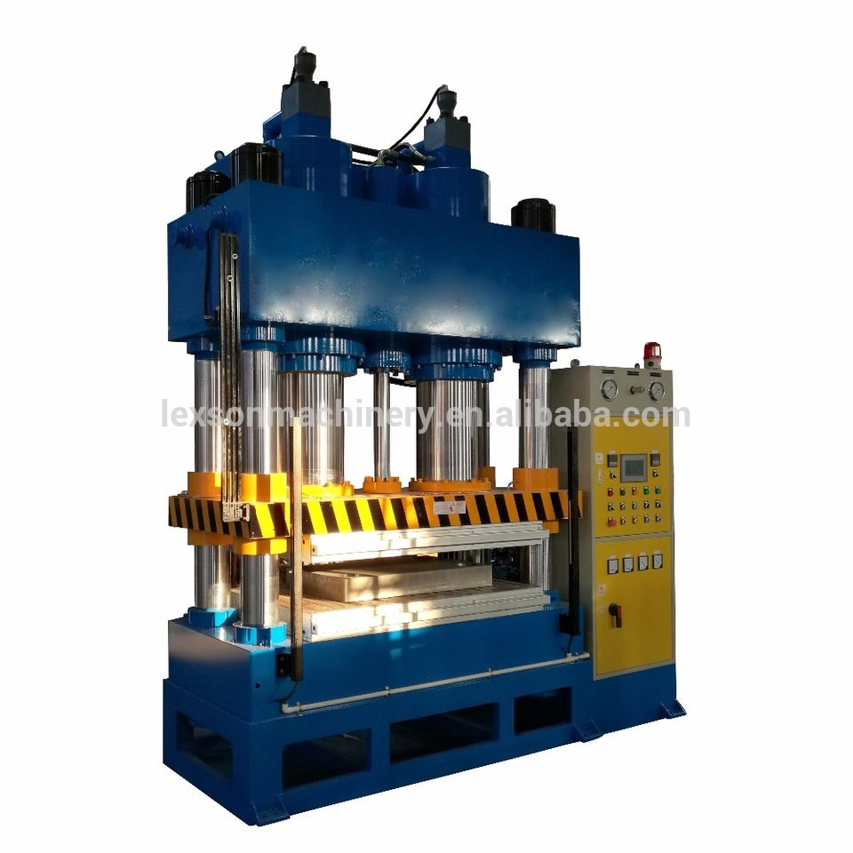 Machine Hydraulic Four Column Custom 400 Ton Hydraulic Heated Press Hot Forming