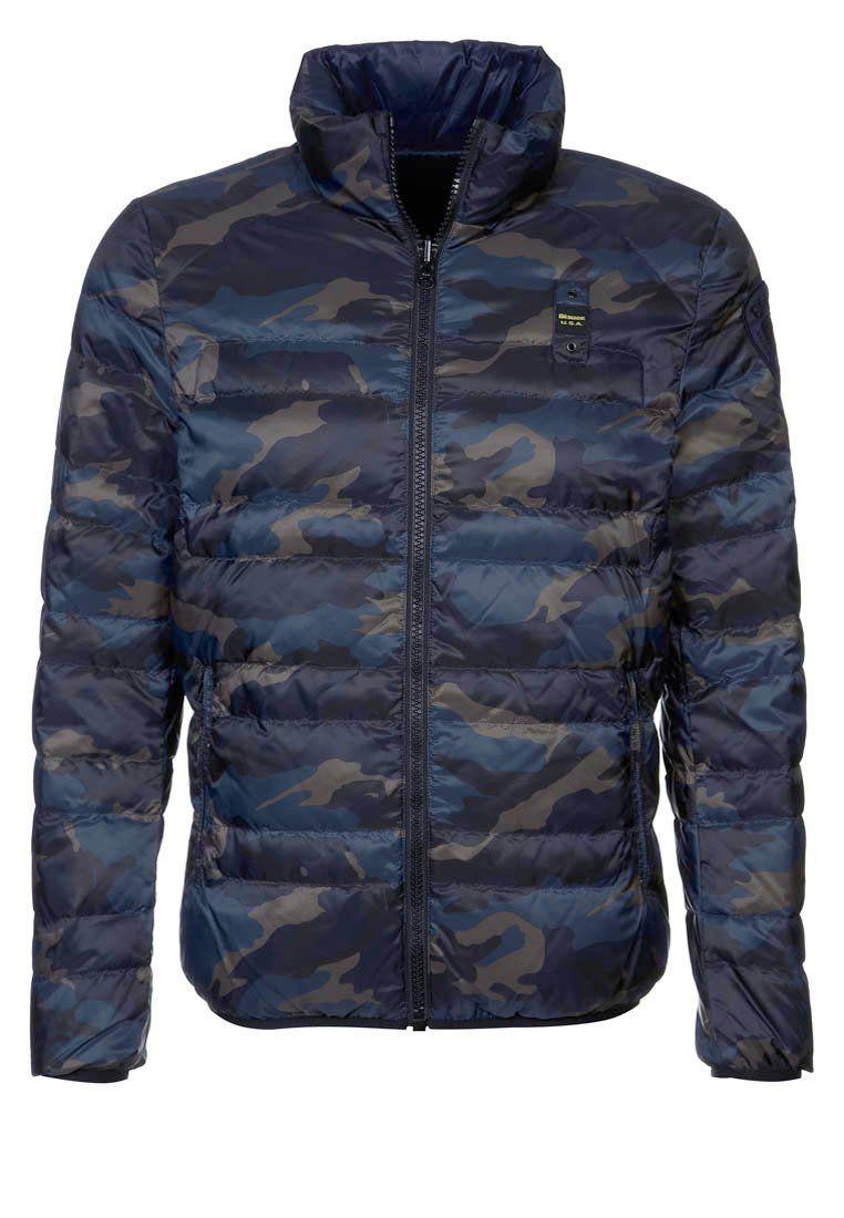 design senza tempo d9634 a27e1 Blauer Piumino blu #militare #military #mimetico #menstyle #uomo ...