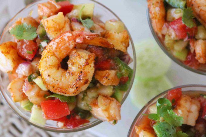 Mexican Shrimp Cocktail #mexicanshrimprecipes
