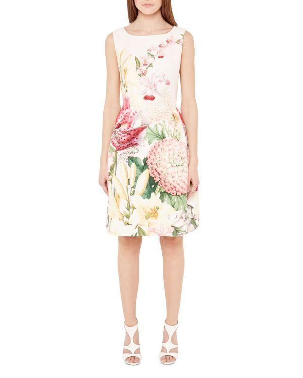 a7e2574a7 Ted Baker Gemisa Encyclopedia Floral Dress | Easter Attire | Dresses ...