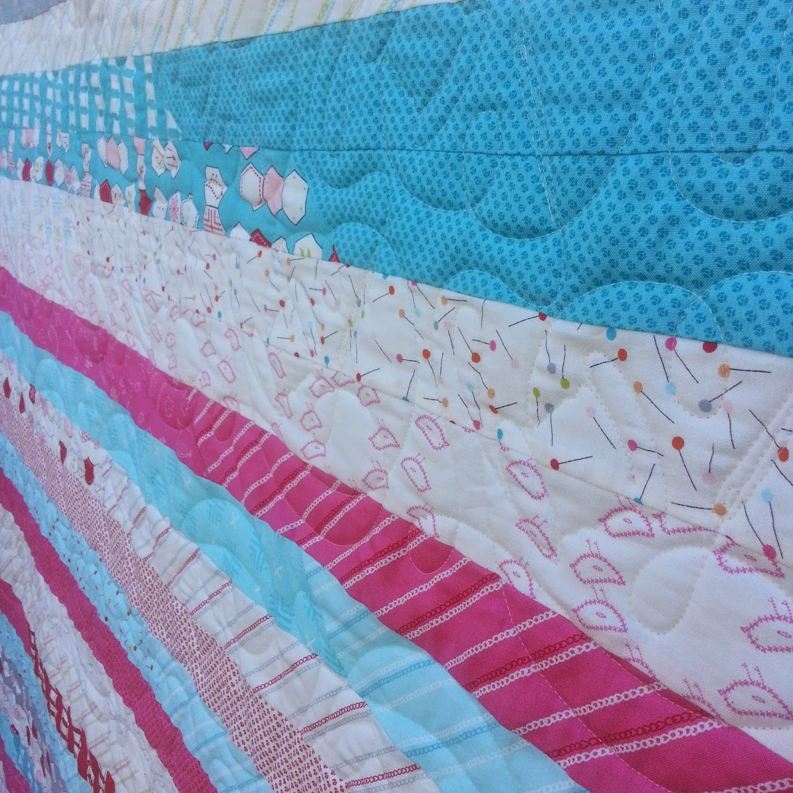 Darvanalee Designs Long Arm Quilting and More Strippy