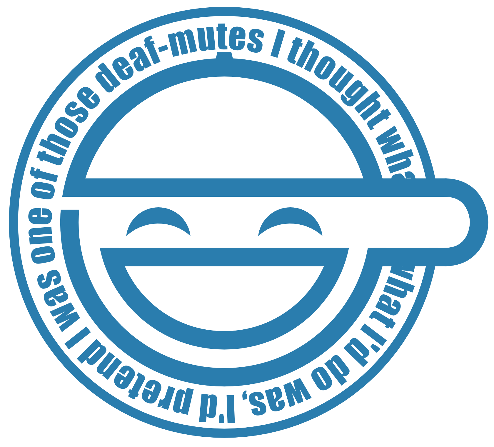 The Laughing Man Ghost In The Shell Man Logo Art Prints