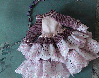 Blythe clothes and Pullip dress handcraft by PrettyBohoDoll #oyuncakbebekelbiseleri