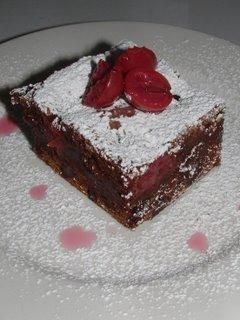 *** Black Forest Brownies - Recipe Detail - BakeSpace.com