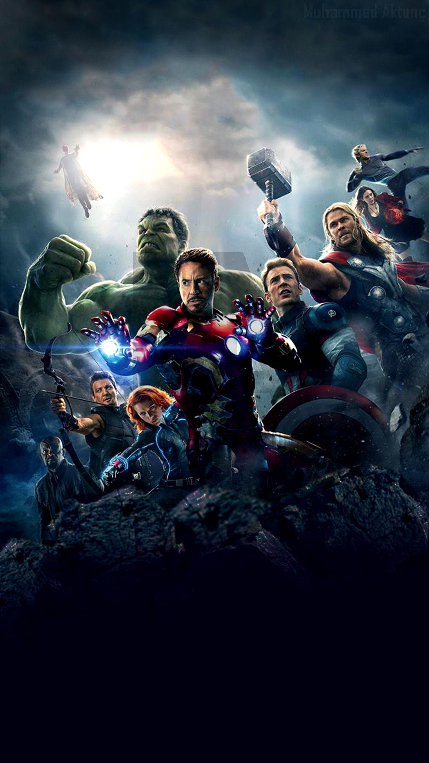 4k Wallpaper For Mobile Avengers Gallery Marvel Pahlawan Marvel Gambar