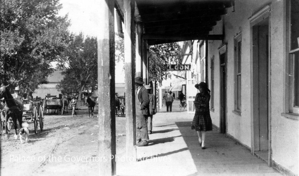 pogphotoarchives: Old Taos Plaza, Taos, New... - Historical Times