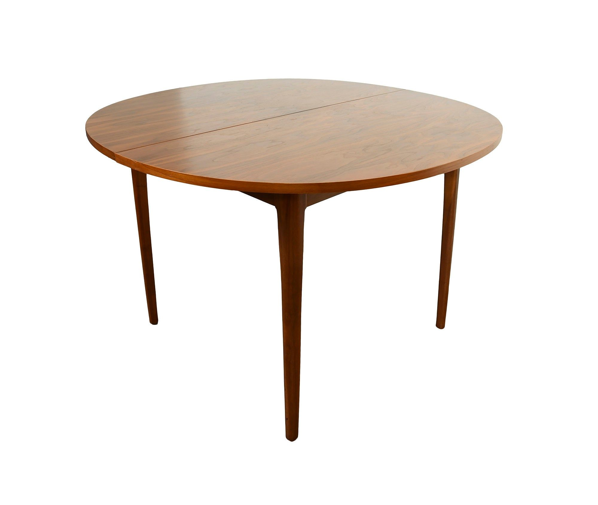 Walnut Dining Table Drexel Declaration Mid Century Modern Round Walnut Table Painted Kitchen Tables Rosewood Dining Chairs Glass Side Tables