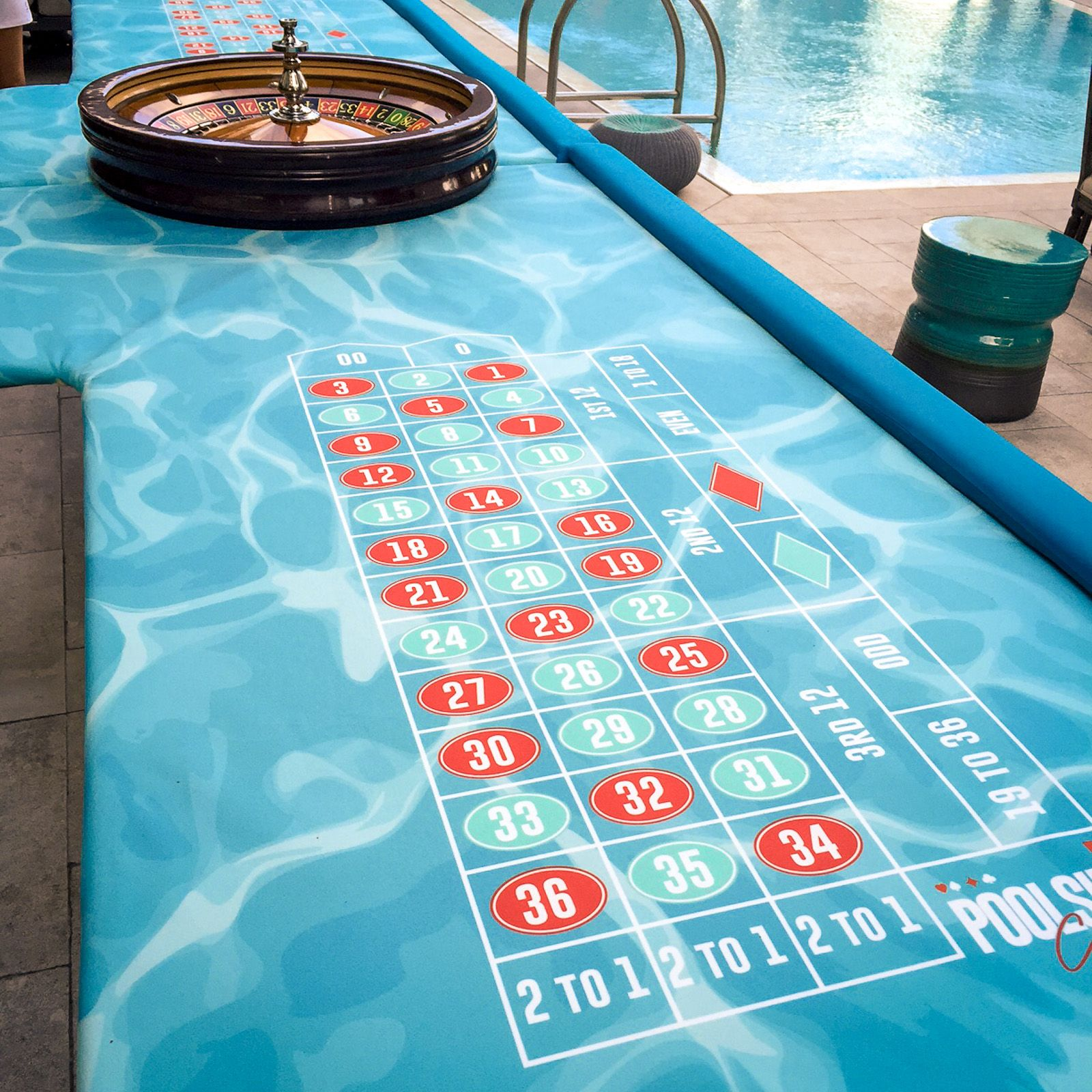 Roulette by the pool! Dream man cave, Game room, Poker table