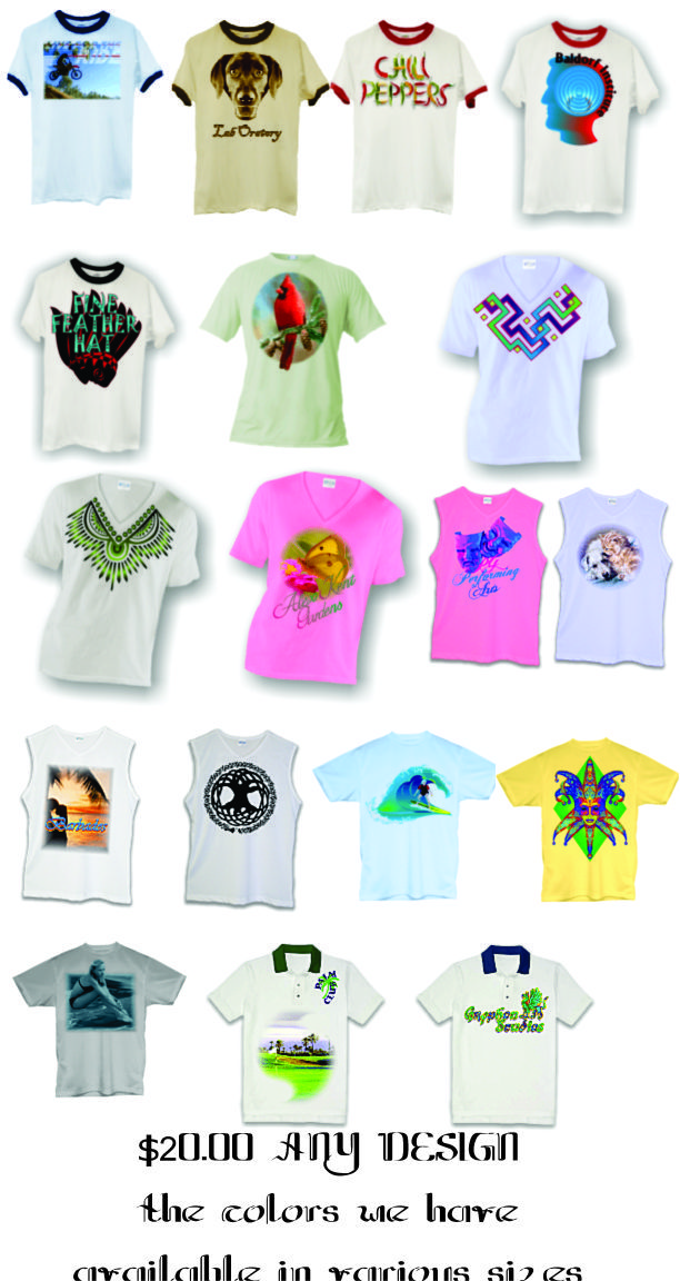 blank shirts we image with your design. #shirts #apparel