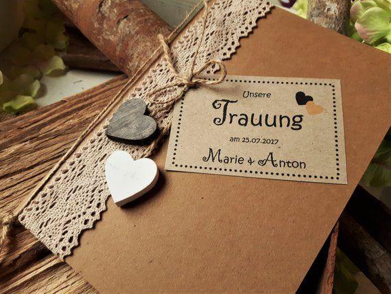 Folleto de la iglesia boda vintage papel kraft folleto del programa cancionero de la iglesia cancionero regalos para invitados corazón de madera de yute ceremonia de boda Lh