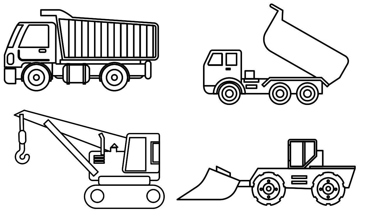Pin On Construction Truck For Children