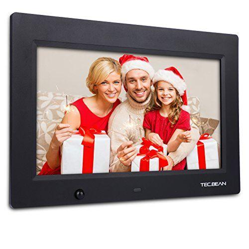 TECBEAN 101 16G HD Digital Photo Frame Builtin Storage Motion Sensor ...