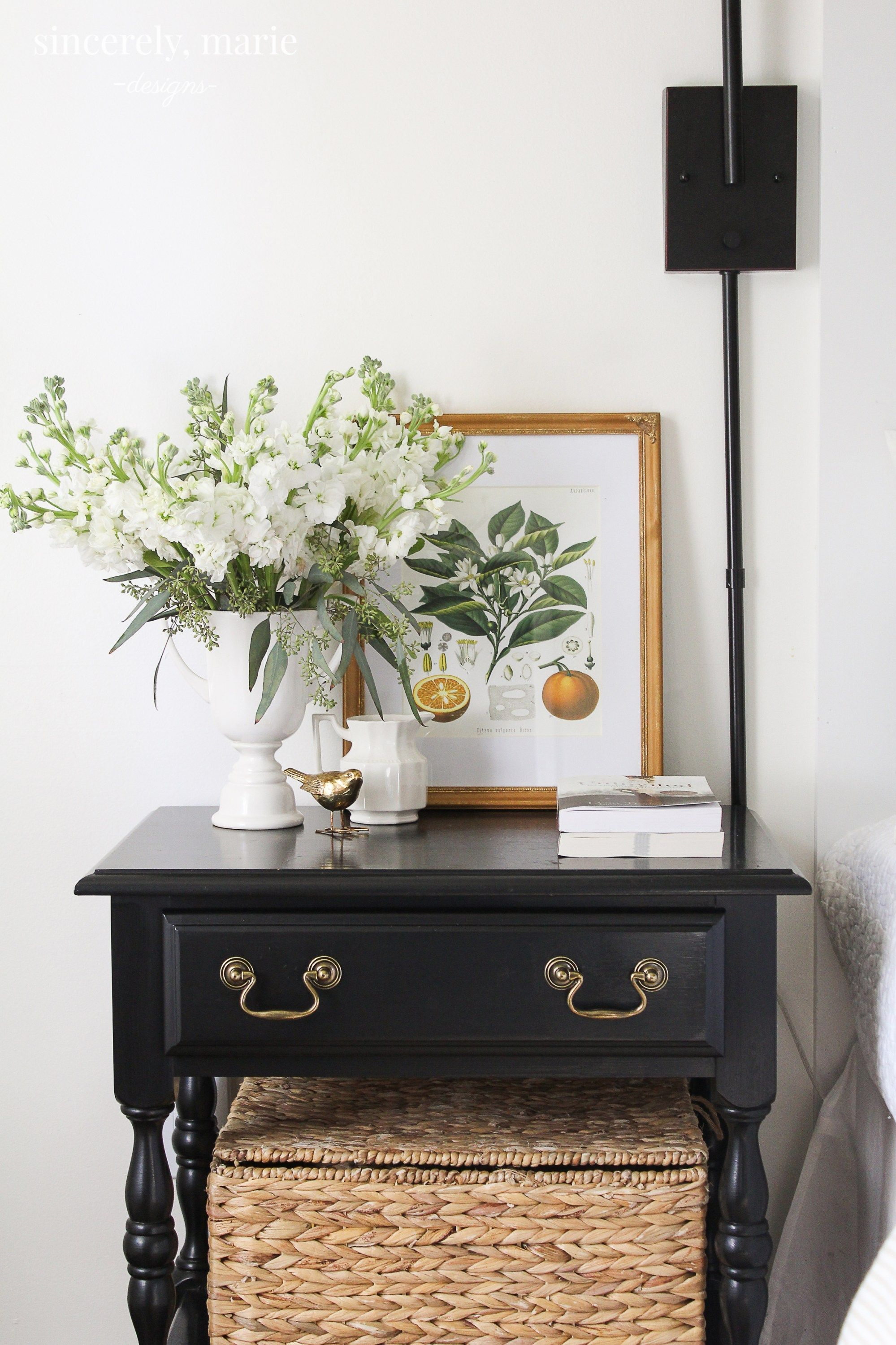Merveilleux Our Vintage Nightstands U0026 My Favorite Furniture Refinishing Trick    Sincerely, Marie Designs