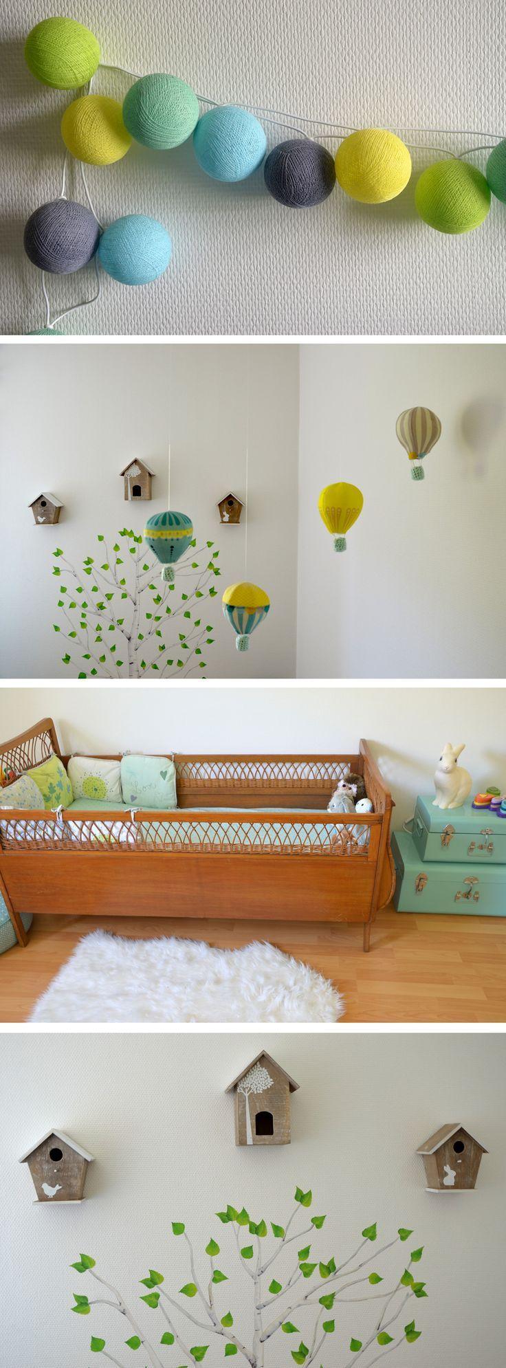 Déco chambre bébé : la chambre nature et poétique de Noah – Mon petit nuage