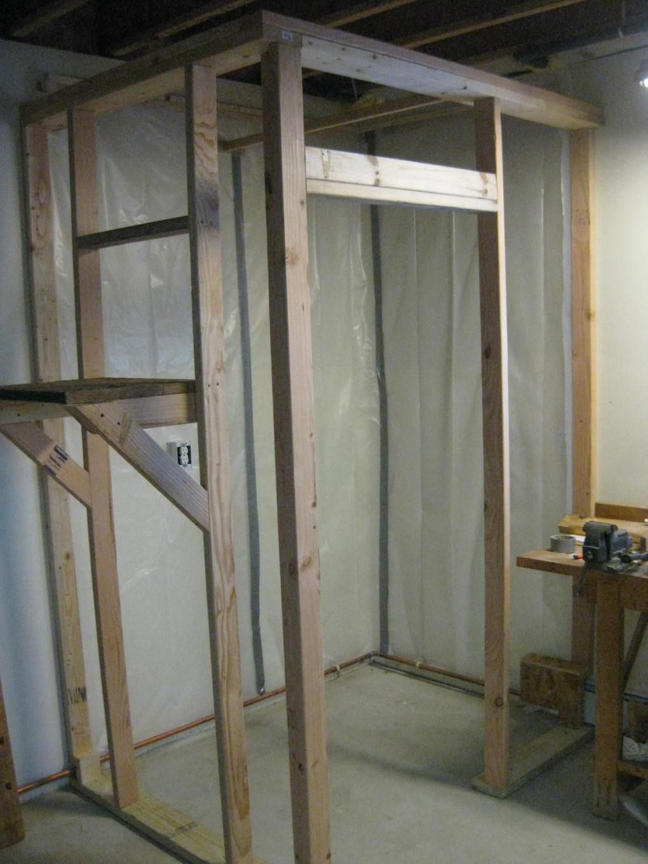 Building A Walk In Cooler Walk In Freezer Diy Cooler Home Improvement