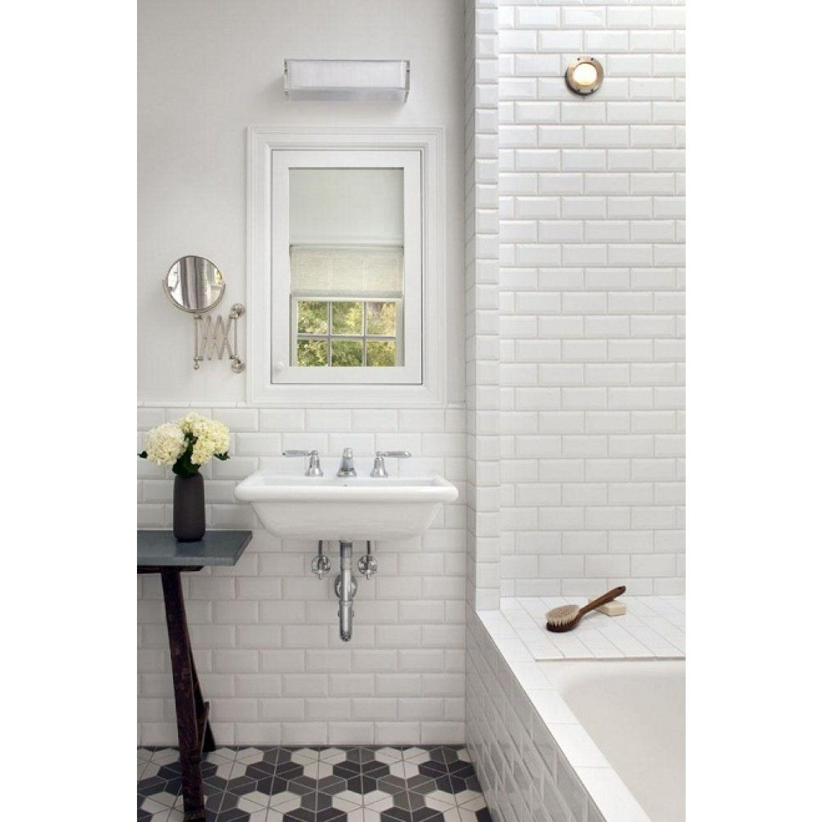 Mini Metro White Wall Tiles | Pinterest | White wall tiles, Tiles ...