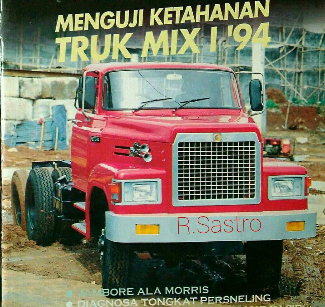 Truck Buatan Indonesia Th 1994 Truk Indonesia Pertahanan