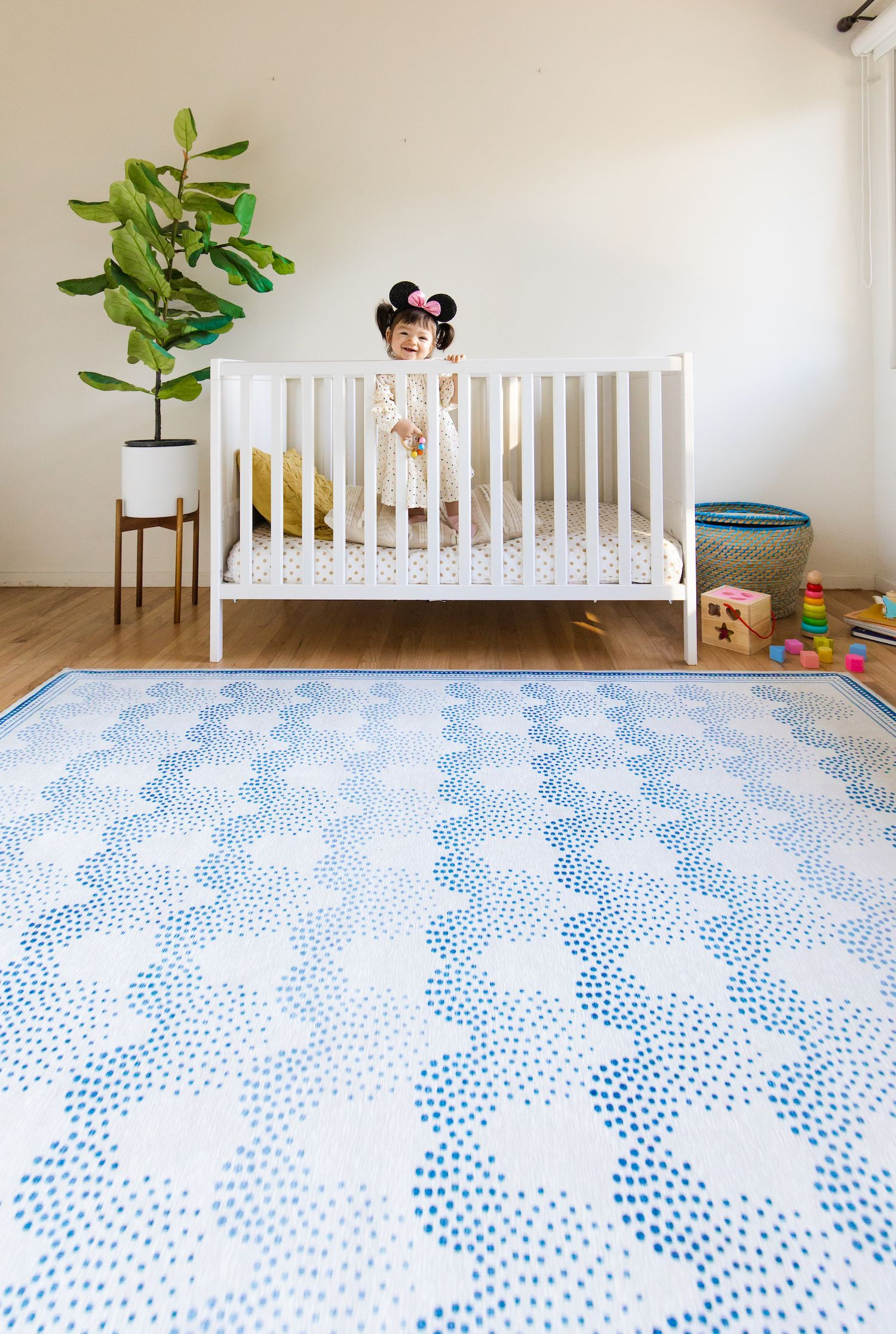 Mickey Ombre Blue Rug