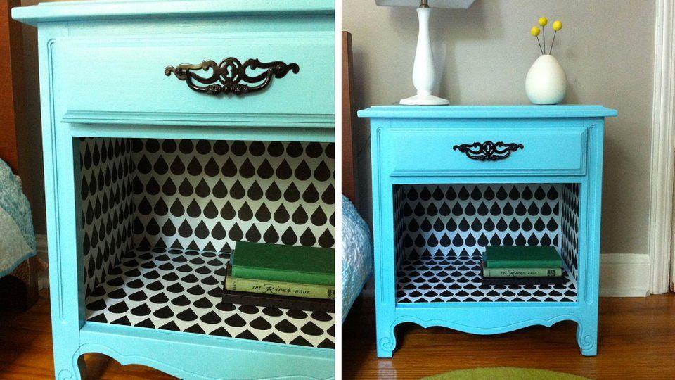 20 idées DIY pour relooker un meuble chiné Decoration - peinture pour relooker meuble en bois
